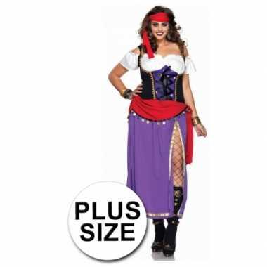 2delig gypsy carnavalskleding voor dames