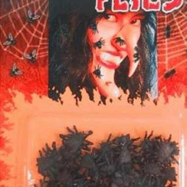 72x nepvliegen op kaart van plastic