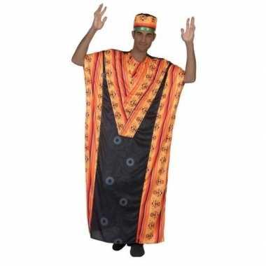 Afrikaanse kaftan verkleed carnavalskleding voor heren