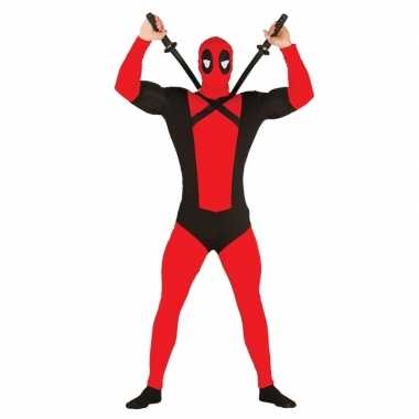 Anti superheld mutant verkleed carnavalskleding voor heren