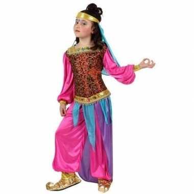 Arabische buikdanseres suheda verkleed carnavalskleding voor meisjes