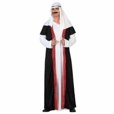 Arabische sjeik 1001 nacht verkleed carnavalskleding/gewaad voor here