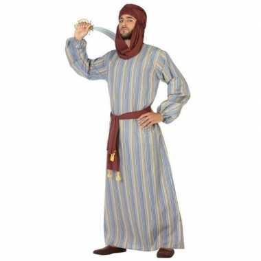 Arabische strijder ali verkleed carnavalskleding/gewaad voor heren
