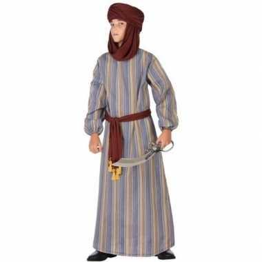 Arabische strijder ali verkleed carnavalskleding/gewaad voor jongens