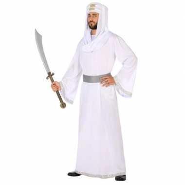 Arabische strijder hassan verkleed carnavalskleding/gewaad voor heren