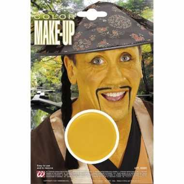 Aziatische gele schmink