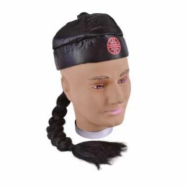 Aziatische hoedjes zwart