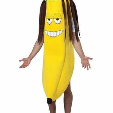 Banaan carnavalskleding rasta