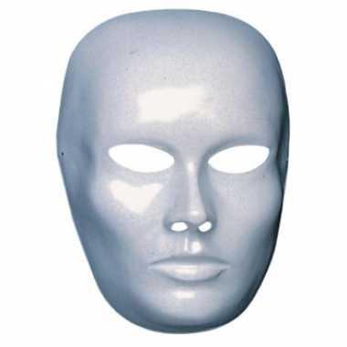 Blanco masker mannen gezicht