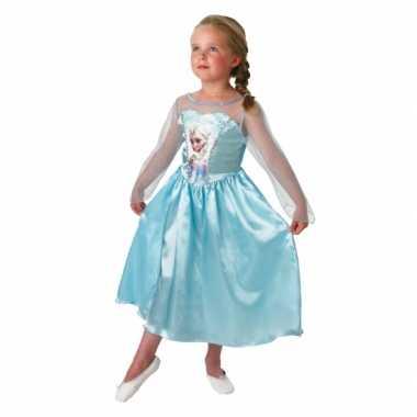 Blauwe frozen jurk voor kids