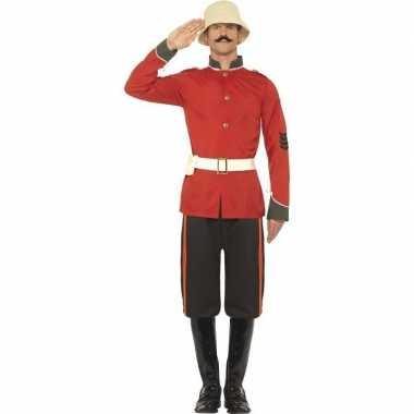 Boerenoorlog soldaat carnavalskleding voor heren