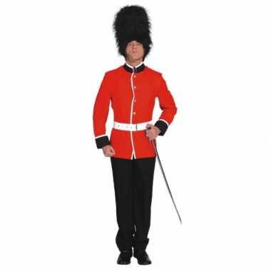 Britse soldaat carnavals carnavalskleding