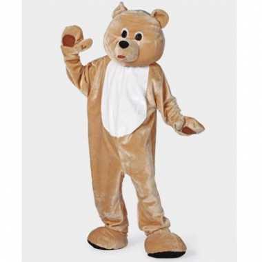Bruin beren carnavalskleding voor volwassenen