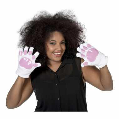 Bunny handschoenen voor volwassenen