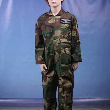 Camouflage kinder carnavalskledingl