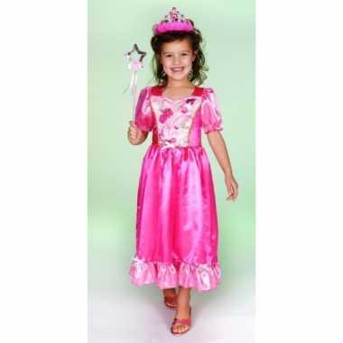 Carnaval carnavalskleding prinsessenjurk roze