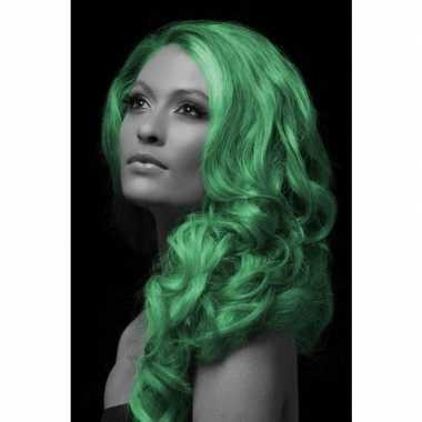 Carnaval haarverf groen