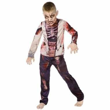 Carnaval zombie carnavalskleding voor kinderen