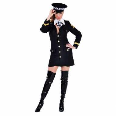 Carnavals carnavalskleding politie agente jurkje