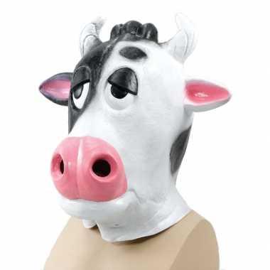 Carnavals koeien masker