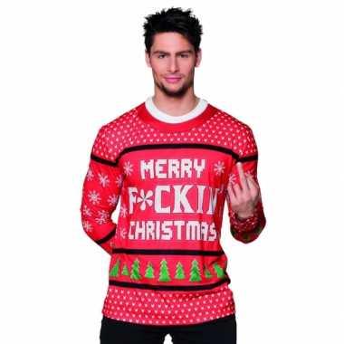 Carnavalscarnavalskleding kerst heren shirt 10075234