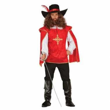 Carnavalscarnavalskleding musketier 10064638