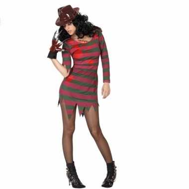 Carnavalskleding freddy jurk voor vrouwen
