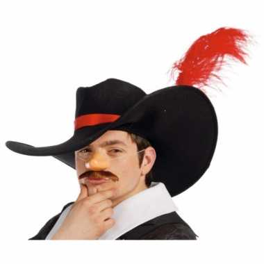Carnavalskleding musketier accessoire