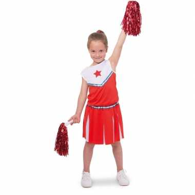 Cheerleader pakje verkleed carnavalskleding voor meisjes