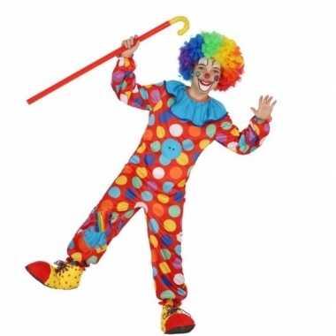 Clown dots carnavalskleding voor jongens