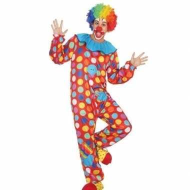 Clown verkleed pak/carnavalskleding voor heren