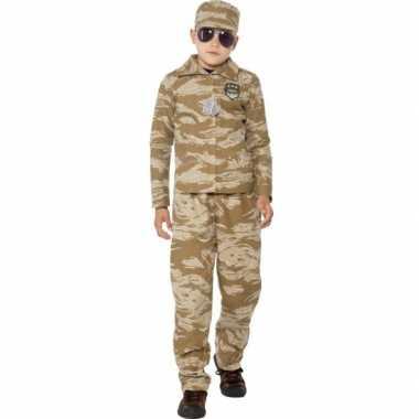 Commando verkleed carnavalskleding voor jongens