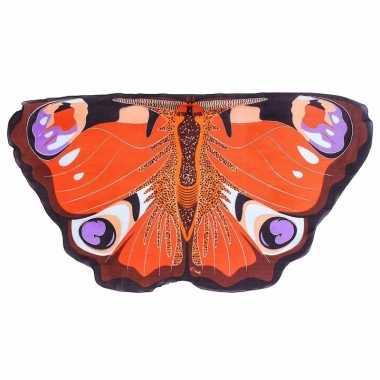 Dagpauwoog vlinder vleugels voor kinderen