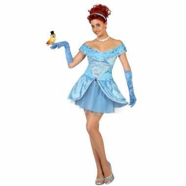 Dames prinsessen jurkje kort