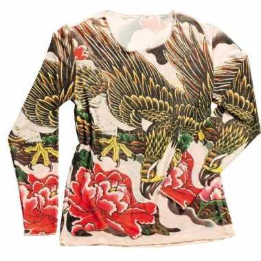 Dames tattoeage t-shirt