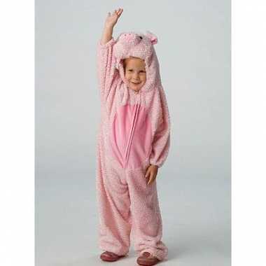 Dieren carnavalskleding varken voor kids