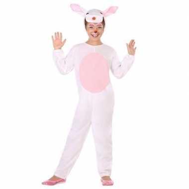 Dierenpak konijn/haas verkleed carnavalskleding voor kinderen