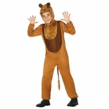 Dierenpak leeuw/leeuwen verkleed carnavalskleding voor kinderen