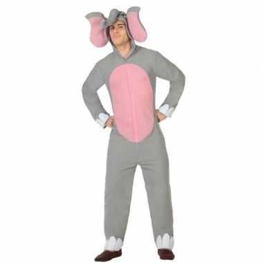 Dierenpak olifant verkleed carnavalskleding voor volwassenen