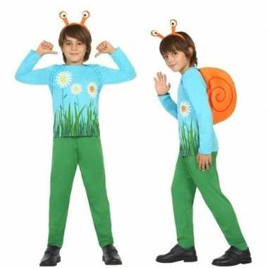 Dierenpak slak/slakken verkleed carnavalskleding voor jongens