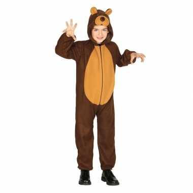 Dierenpak verkleed carnavalskleding beer voor kinderen