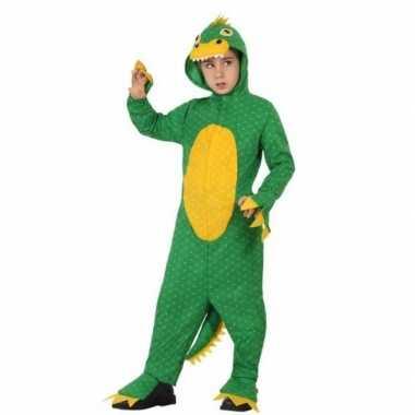 Dinosaurus rex carnavalskleding voor jongens