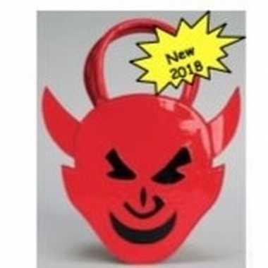 Duivel accessoires tas rood