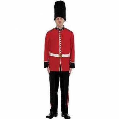 Engels officiers carnavalskleding