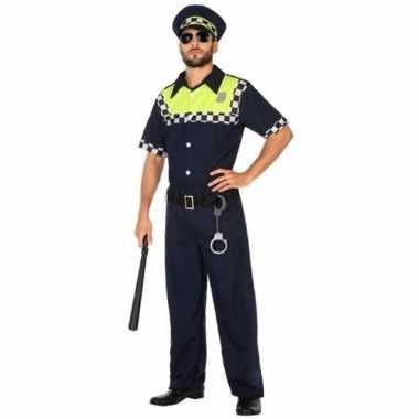 Engelse politie verkleed pak/carnavalskleding voor volwassenen