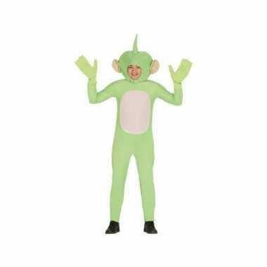 Feest carnavalskleding alienpak voor volwassenen