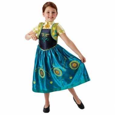 Feest carnavalskleding Anna Frozen voor meisjes