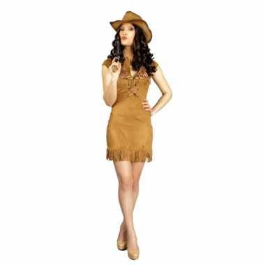 Feest cowboy verkleedcarnavalskleding dames