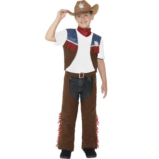Feest cowboy verkleedcarnavalskleding voor jongens