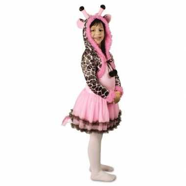 Feest giraffe verkleedcarnavalskleding voor meisjes